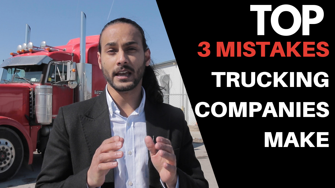 TOP 3 BIGGEST MISTAKES TRUCK COMPANIES MAKE WHEN HIRING TRUCK DRIVERS