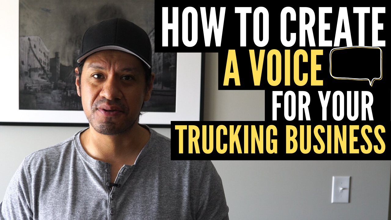 How To Create a Client Voice For Your Trucking Business